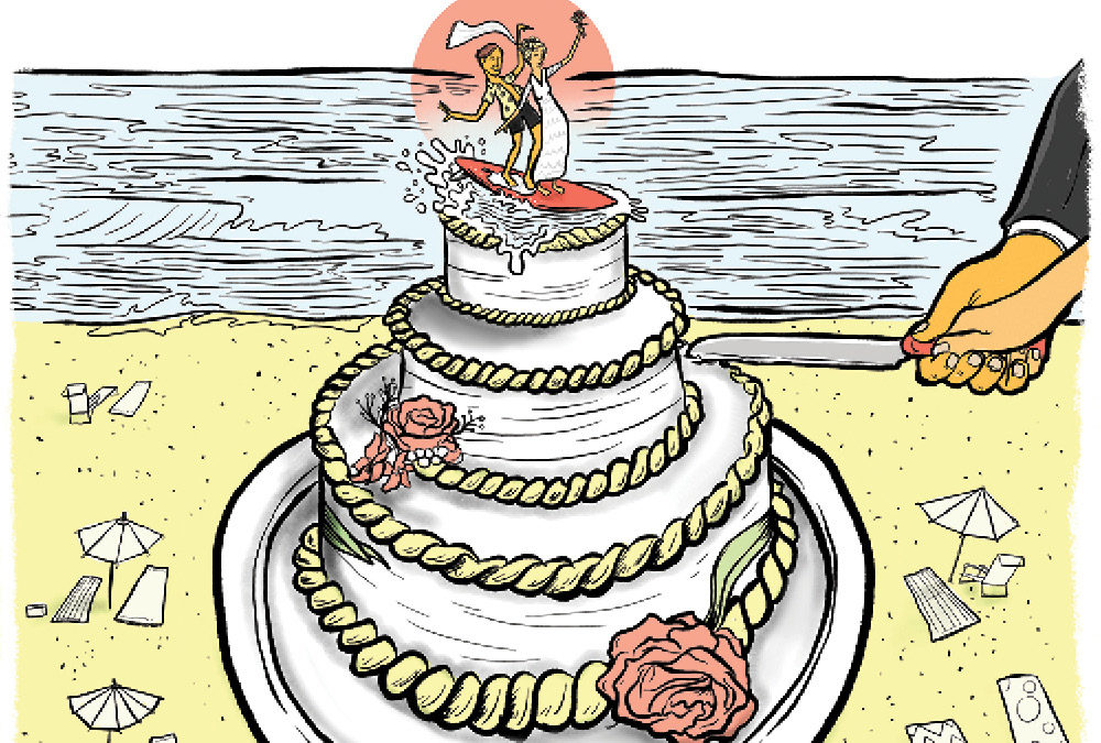 A Big Slice of Charleston's Wedding Cake